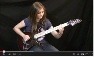 Tina Eruption guitar solo